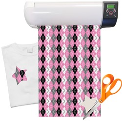 "Argyle Heat Transfer Vinyl Sheet (12""x18"")"