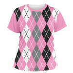Argyle Women's Crew T-Shirt (Personalized)