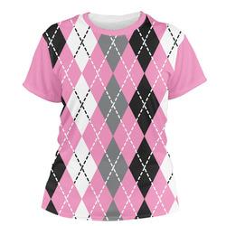 Argyle Women's Crew T-Shirt (Personalized)