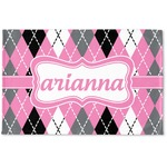 Argyle Woven Mat (Personalized)