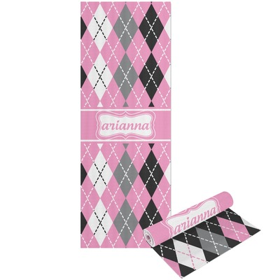 Argyle Yoga Mat - Printable Front and Back (Personalized)
