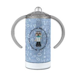 Dentist 12 oz Stainless Steel Sippy Cup (Personalized)