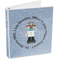 Dentist 3-Ring Binder (Personalized)