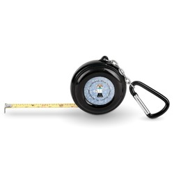 Dentist Pocket Tape Measure - 6 Ft w/ Carabiner Clip (Personalized)
