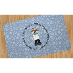 Dentist Area Rug - 5'x8' (Personalized)