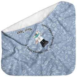 Dentist Baby Hooded Towel (Personalized)