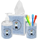 Dentist Acrylic Bathroom Accessories Set w/ Name or Text