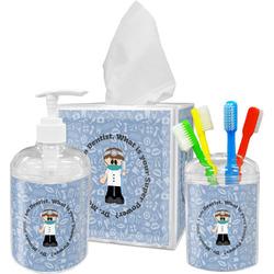 Dentist Bathroom Accessories Set (Personalized)