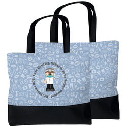 Dentist Beach Tote Bag (Personalized)