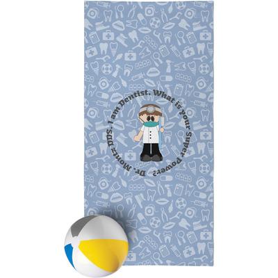 Dentist Beach Towel (Personalized)