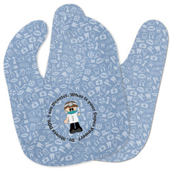 Dentist Baby Bib w/ Name or Text
