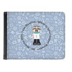Dentist Genuine Leather Men's Bi-fold Wallet (Personalized)