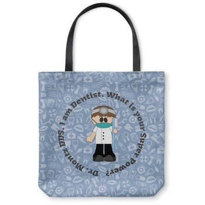 Dentist Canvas Tote Bag (Personalized)