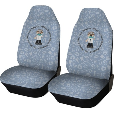 Dentist Car Seat Covers (Set of Two) (Personalized)