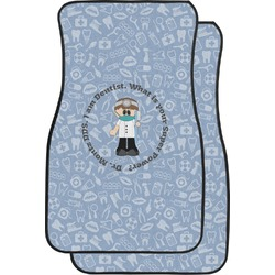 Dentist Car Floor Mats (Front Seat) (Personalized)