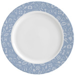 Dentist Ceramic Dinner Plates (Set of 4) (Personalized)