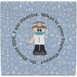 Dentist Ceramic Tile Hot Pad (Personalized)