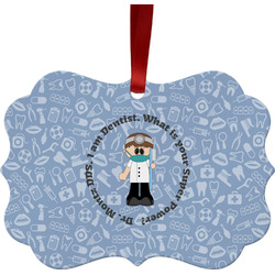 Dentist Ornament (Personalized)