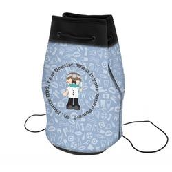 Dentist Neoprene Drawstring Backpack (Personalized)