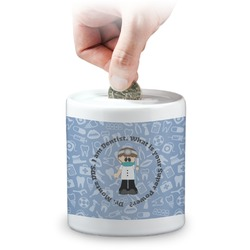 Dentist Coin Bank (Personalized)