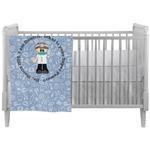 Dentist Crib Comforter / Quilt (Personalized)