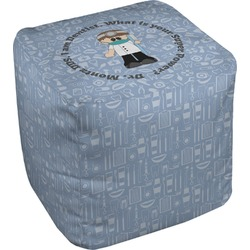 Dentist Cube Pouf Ottoman (Personalized)