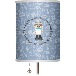 """Dentist 7"""" Drum Lamp Shade (Personalized)"""