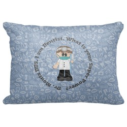 "Dentist Decorative Baby Pillowcase - 16""x12"" (Personalized)"
