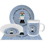 Dentist Dinner Set - 4 Pc (Personalized)