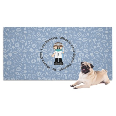 Dentist Dog Towel (Personalized)