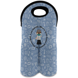 Dentist Wine Tote Bag (2 Bottles) (Personalized)