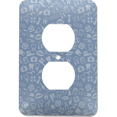 Dentist Electric Outlet Plate (Personalized)