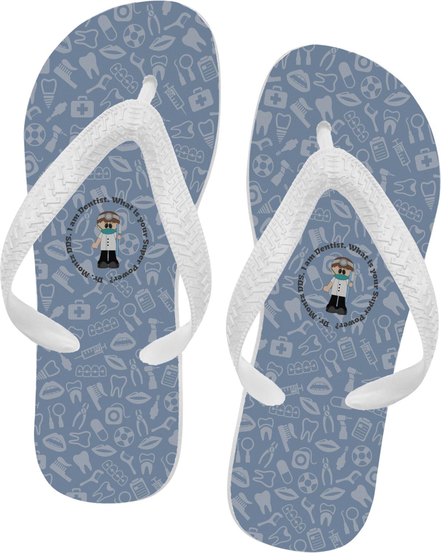 3c78ec95f4329e Dentist Flip Flops (Personalized) - YouCustomizeIt