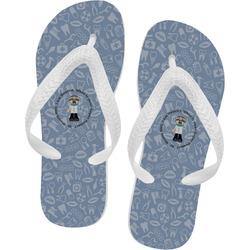 Dentist Flip Flops - XSmall (Personalized)