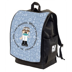 Dentist Backpack w/ Front Flap  (Personalized)