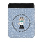 Dentist Genuine Leather Money Clip (Personalized)
