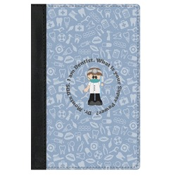 Dentist Genuine Leather Passport Cover (Personalized)