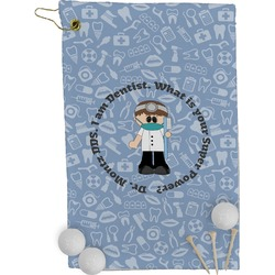 Dentist Golf Towel - Full Print (Personalized)