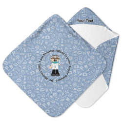 Dentist Hooded Baby Towel (Personalized)