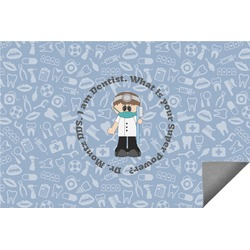 Dentist Indoor / Outdoor Rug (Personalized)