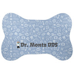 Dentist Bone Shaped Dog Food Mat (Personalized)