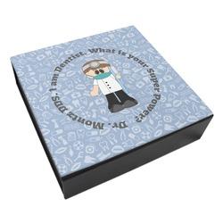 Dentist Leatherette Keepsake Box - 8x8 (Personalized)