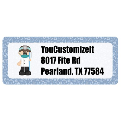 Dentist Return Address Labels (Personalized)