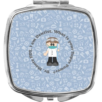 Dentist Compact Makeup Mirror (Personalized)