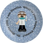 Dentist Melamine Plate (Personalized)