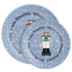 Dentist Melamine Plate (Personalized)