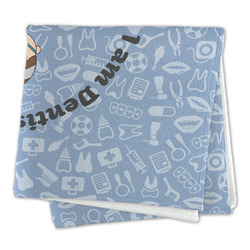 Dentist Large Microfiber Dish Rag (Personalized)