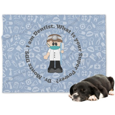 Dentist Dog Blanket (Personalized)