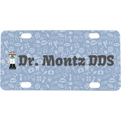 Dentist Mini / Bicycle License Plate (Personalized)