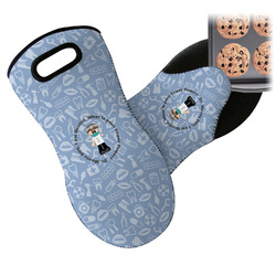 Dentist Neoprene Oven Mitts w/ Name or Text